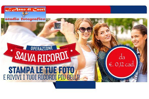Salva Ricordi - Stampa le tue foto