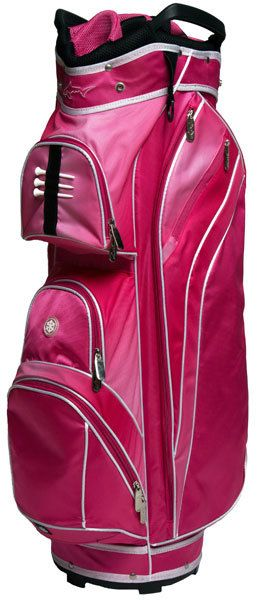 I found this at Pink Golf Tees! Greg Norman Pretty In Pink Ladies Golf Bag