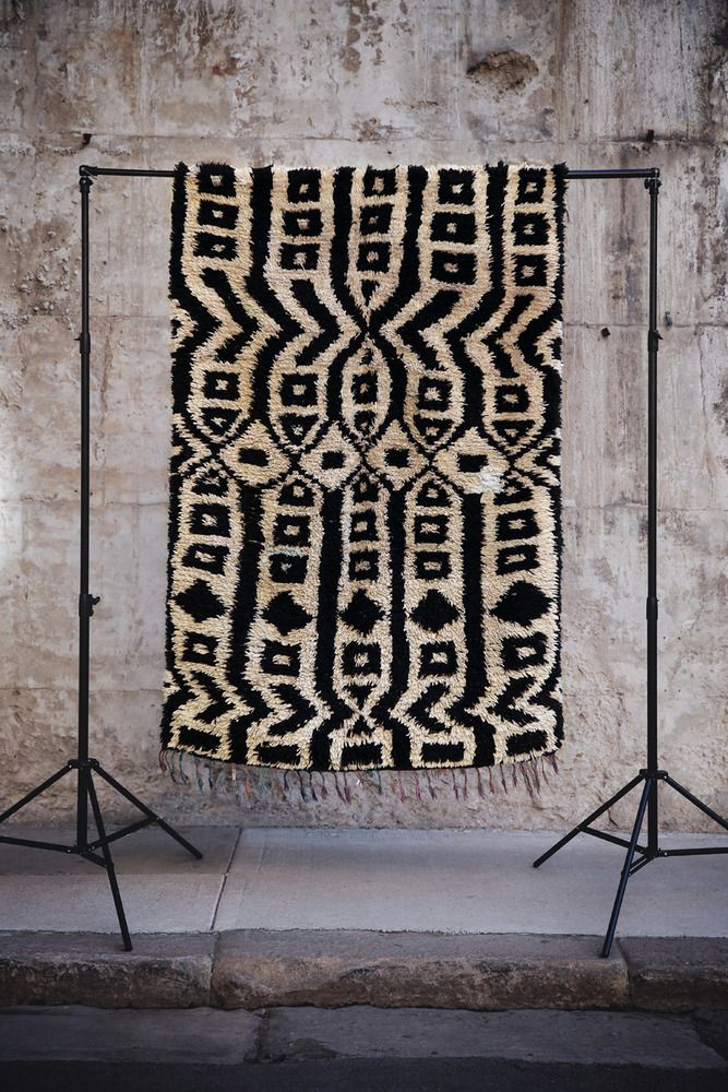 Image of Curators Collection - Boucherouite Rag Rug - Aztec