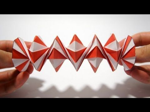 ▶ Origami Spring into Action (Jeff Beynon) - YouTube
