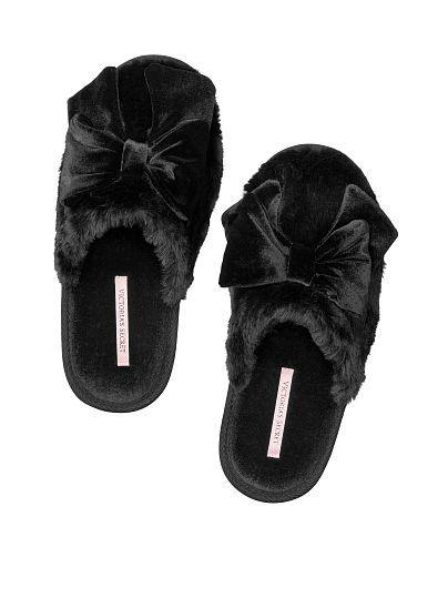 c894defc03 Slipper - information, fashion and shopping tips for slippers Velvet Bow  Slipper - Victoria's Secret