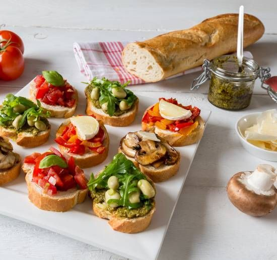 bruschette-baguette-verdure