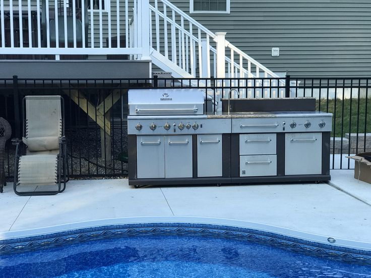 Decided to up my pool area grill game today. #grilling #BBQ #Deals #recipes #discounts #summer #foodie #food #recipe #free