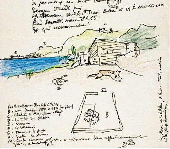 Le cabanon by Le Corbusier, 1951