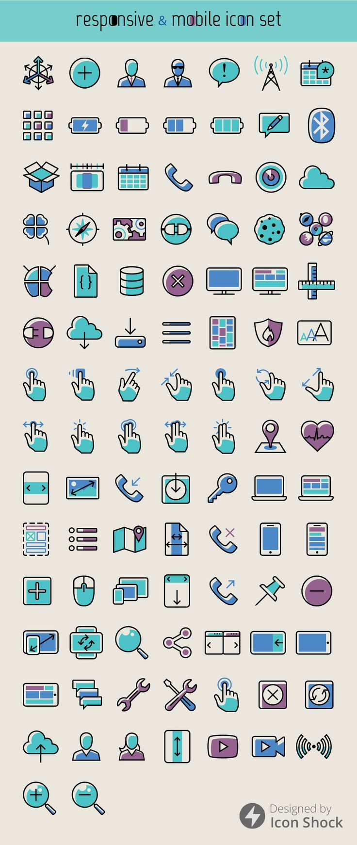 cold-colors-free icons