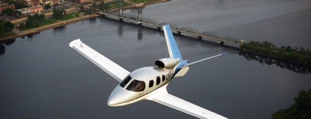 Not gonna lie; it's a sexy jet Cirrus Vision SF50. It's cozy for 5 adults & 2 children, but I'm still happy with a turbo piston single for much less $