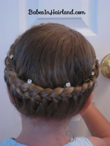 Babes In Hairland  Home  Hairstyle Gallery  Hairstyles  More  Videos  About  Contact | Advertise  Half French Braiding – Crown    SEPTEMBER 3RD, 2008 | NO COMMENTS