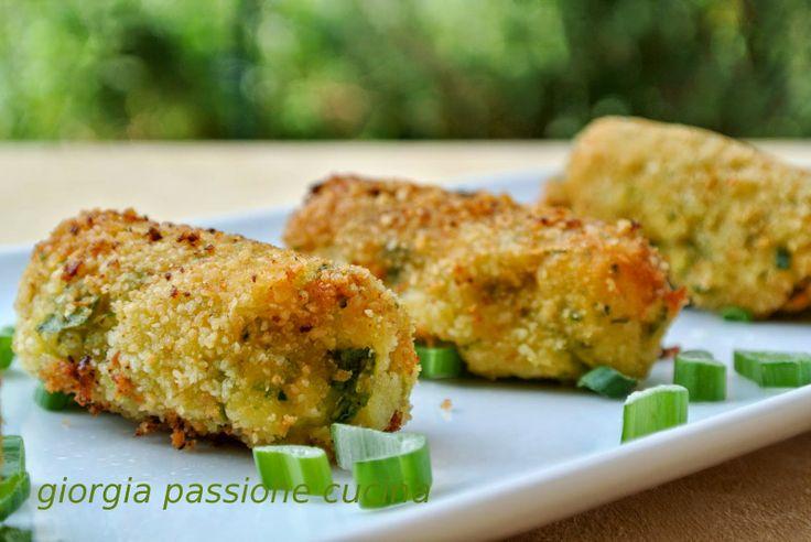 #giorgiapassionecucina: #crocchette di #patate e #zucchine