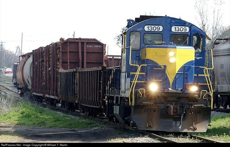 RailPictures.Net Photo: HOG1309 Heart of Georgia/SAM Shortline EMD GP9m at Cordele, Georgia by William T. Martin