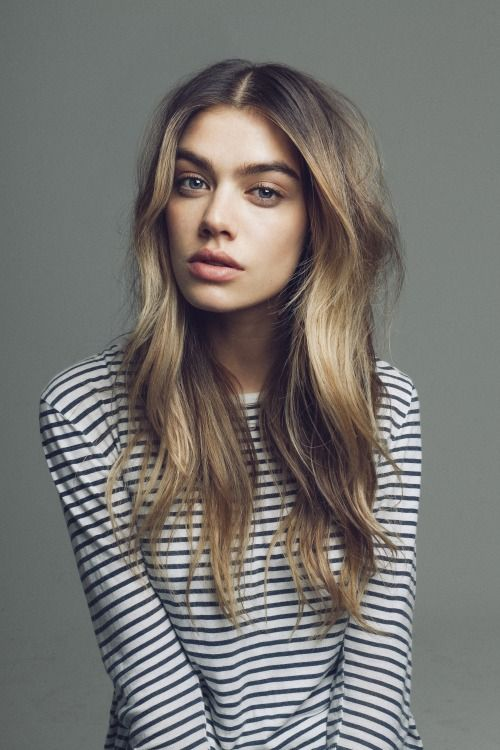 Hair: soft waves. | Joanna Halpin by Tom Mitchell | What She Said