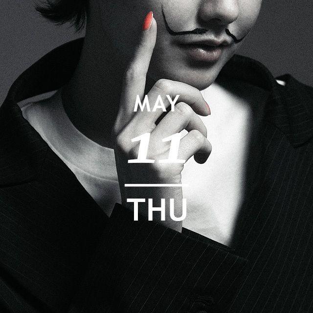 5月11日はサルバドールダリの誕生日 スペインの巨匠サルバドールダリ アイコニックな八の字のヒゲを携えて今日はシュールレアリスムの世界にどっぷり浸って NYLON.JPでは365日毎日がアニバーサリーをテーマにファッショナブルでユニークなスタイリングを毎日提案しているよ http://www.nylon.jp/365 model: @t.monika.f #365anniversary #fashion #ootd #outfit #coordinate #photooftheday #beautiful #makeup #beauty #style #今日は何の日 #サルバドールダリ誕生日 #nylonjapan #nylonjp #caelumjp  via NYLON JAPAN MAGAZINE OFFICIAL INSTAGRAM - Celebrity  Fashion  Haute Couture  Advertising  Culture  Beauty  Editorial Photography  Magazine Covers  Supermodels…