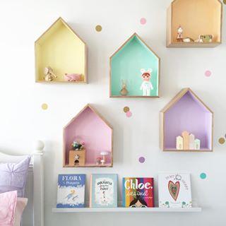 pastel shelves..                                                                                                                                                     More