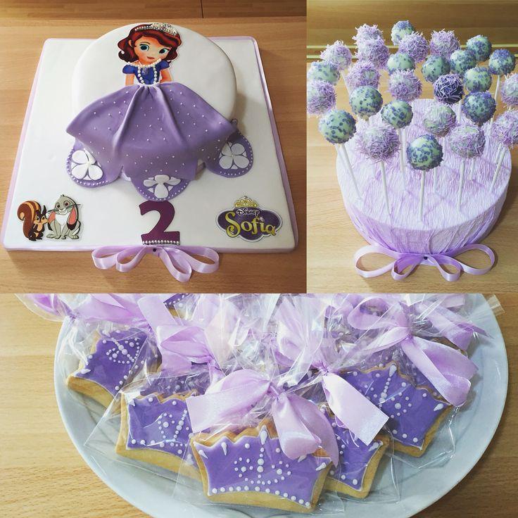 Sofia The First Birthday Cake Torta di compleanno La principessa Sofia
