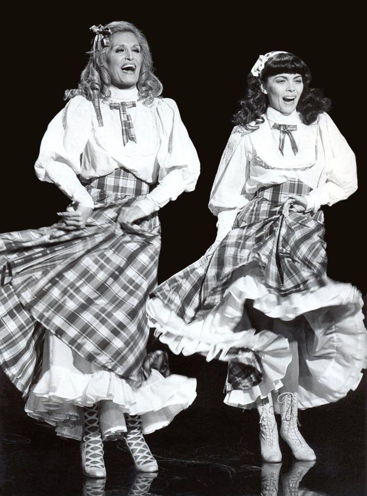 Mireille Mathieu et Dalida