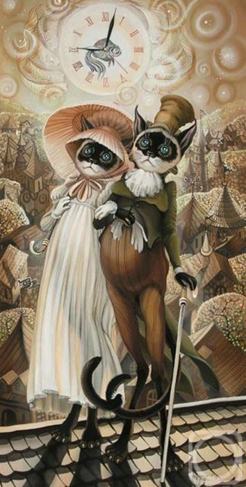 Wolk Painting - Sokolov Nadezhda, Batik