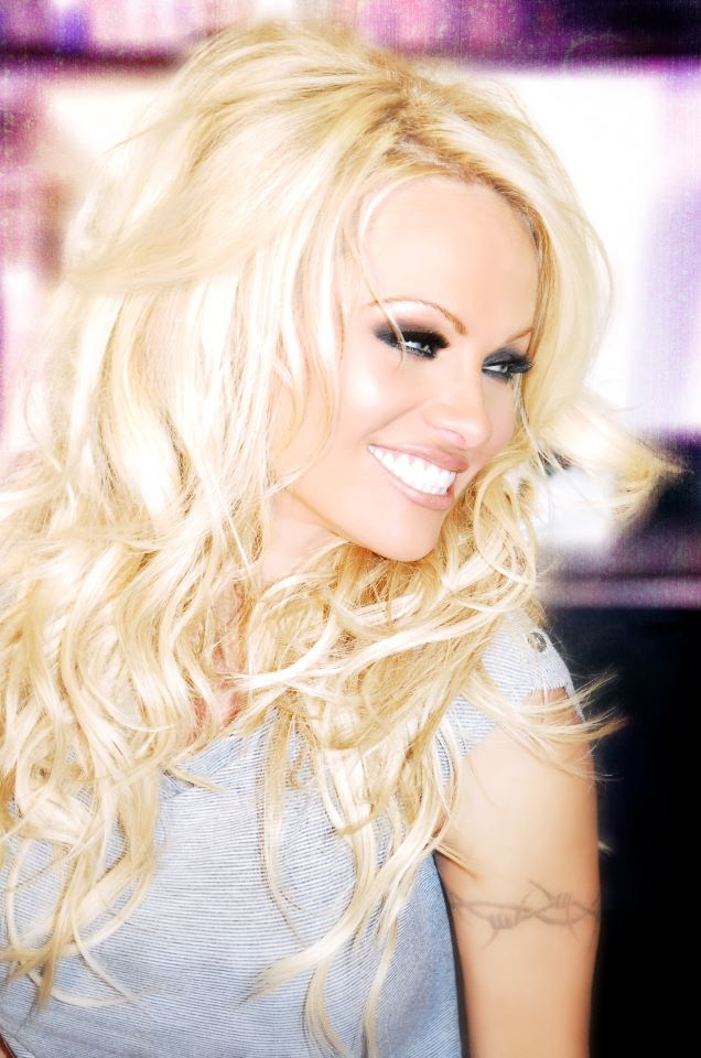 Pamela Anderson Dwts Promo Makeup By Alexis Vogel