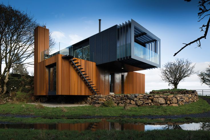 Patrick Bradley's home as featured on Grand Designs, Channel 4. See more images here http://selfbuild.ie/featured/grillagh-water-house-patrick-bradley/