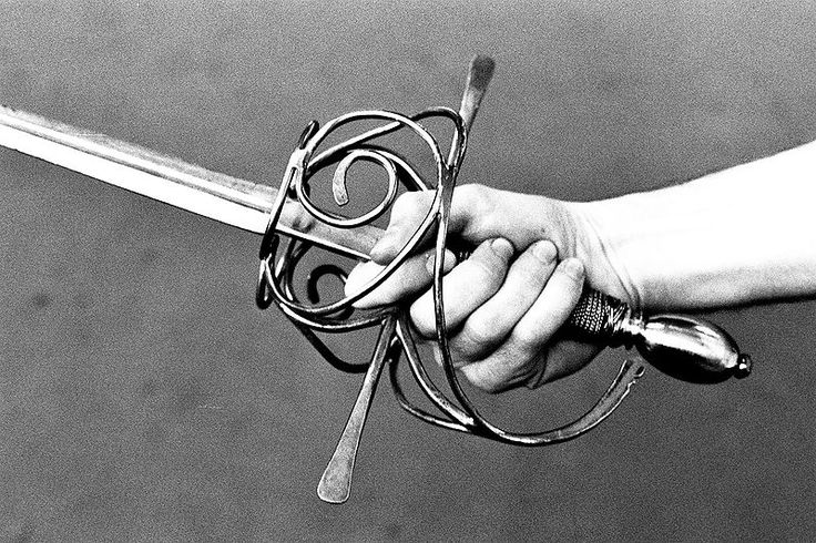 Historical fencing.  My weapons of choice -  Italian rapier and French smallsword.