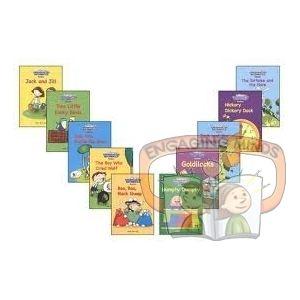 Kindergarten Mathematics Readersintegrate basic mathematics concepts with well-loved children's rhymes and stories.