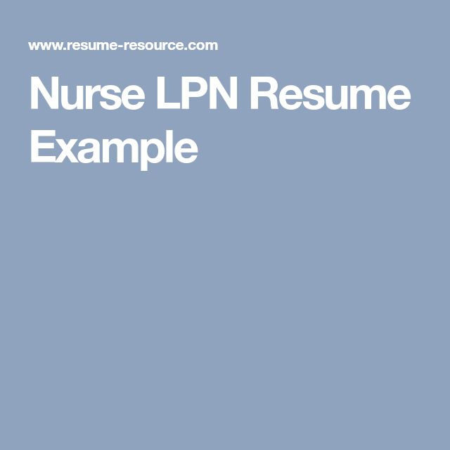 Best 25+ Lpn resume ideas on Pinterest Student nurse jobs, The - ltc administrator sample resume