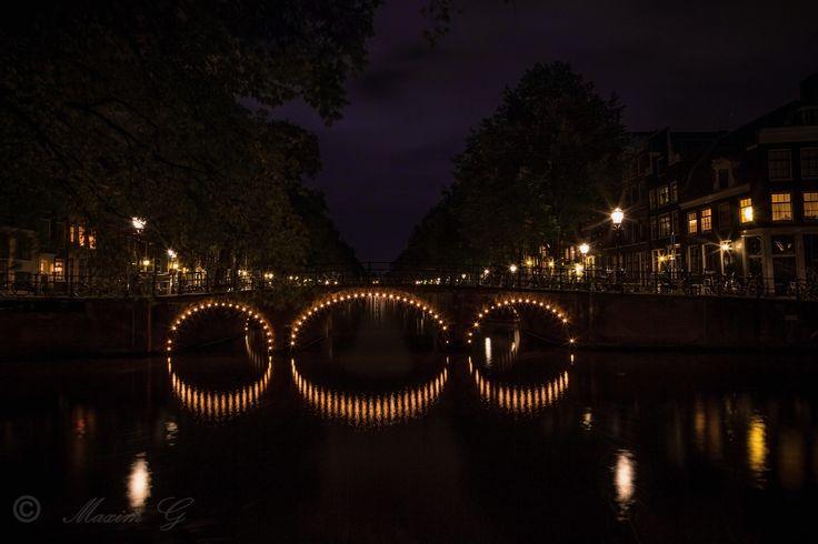 #canals #amsterdam #brouwersgracht #netherlands #bridge #nightphotography #photography #architecture