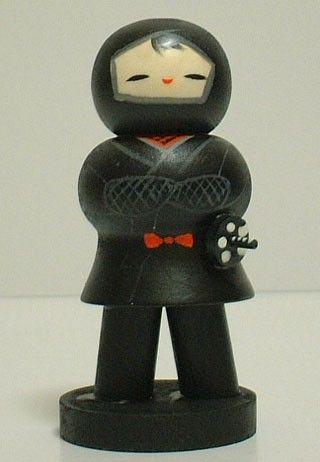 Кокеши - японские куклы-талисманы: ochendaje