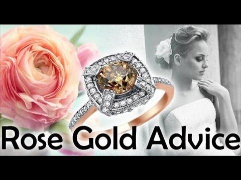 Rose Gold Engagement Rings History Comparison Advice – Rose Engagement Ring