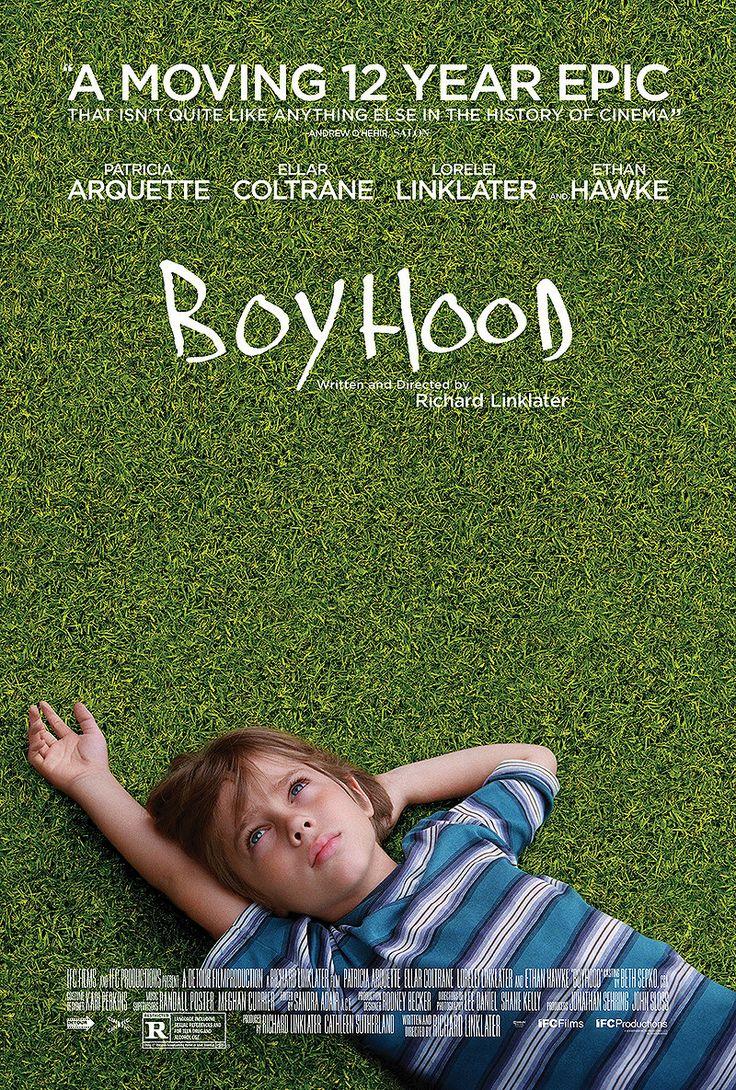 """Boyhood."" Filmed over 12 years using the same actors. 5stars on Rotten Tomatoes."