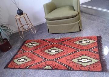 Retro smyrna tapijtje geometrisch kleedje kleed tapijt