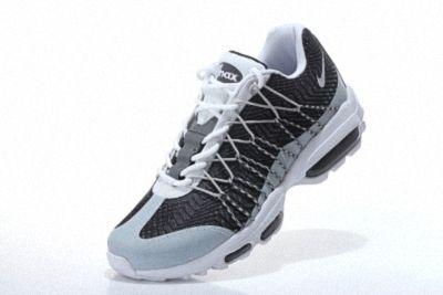 super popular d88ea 53b71 Nike Air Max 95 Hyp PRM 20 Anniversary ULTRA JACQUARD Wolf Grey White Dark  Grey