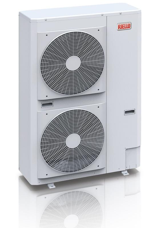 Riello AirHP 015 M Nordic  gir turvanntemperatur på opptil 60 °C, dvs. at den kan brukes på et radiatoranlegg, nytt eller eksisterende. Har du oljefyring fra før, kan varmepumpen enkelt kobles opp mot dette anlegget. Riello HP Air Nordic er monoblock luft/vann-varmepumper. Dvs at varmeveksleren, ekspansjons- og sirk.system er innebygget i utedelen. Dette gjør monteringen svært enkel - kun vannrør mellom utedelen og resten av anlegget.