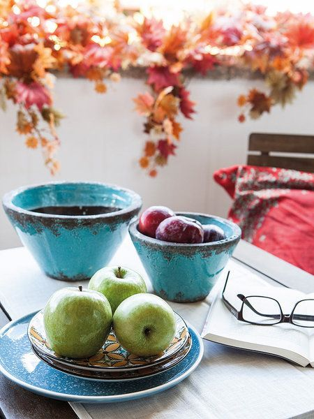 Cuencos con fruta