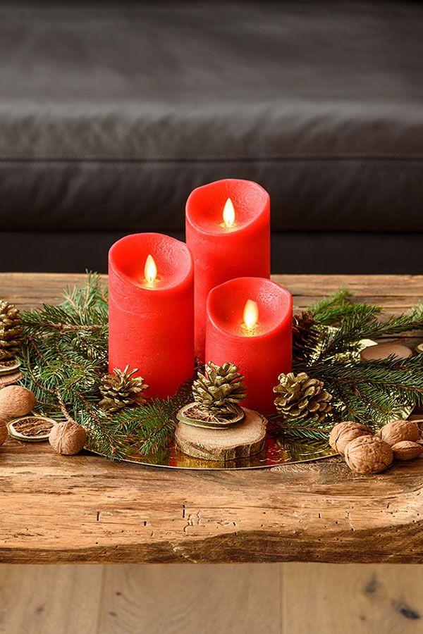Per una tavola di natale bellissima. Pin Su Centrotavola E Addobbi Per La Tavola Di Natale
