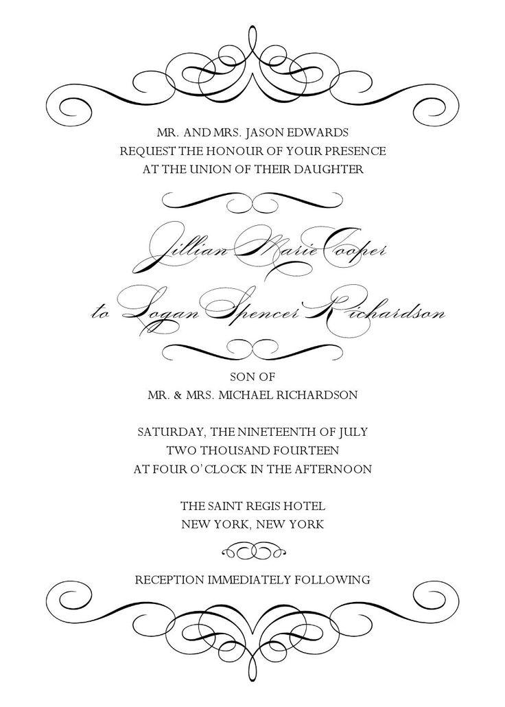 24 best DIY Wedding Invitation Templates - Instant Download images ...
