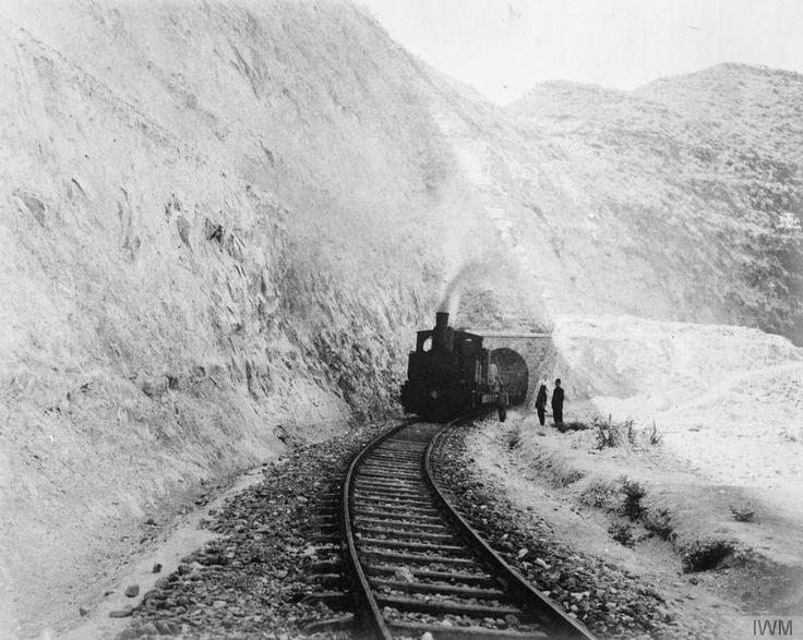 Hejaz Railway - Tunnel Number 2, on the Haifa to Deraa branch line.