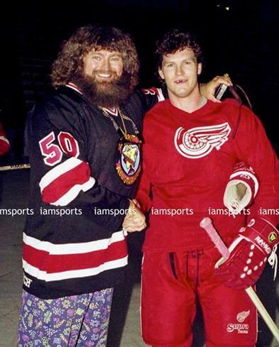 The time Bob Probert met wrestler Hillbilly Jim.