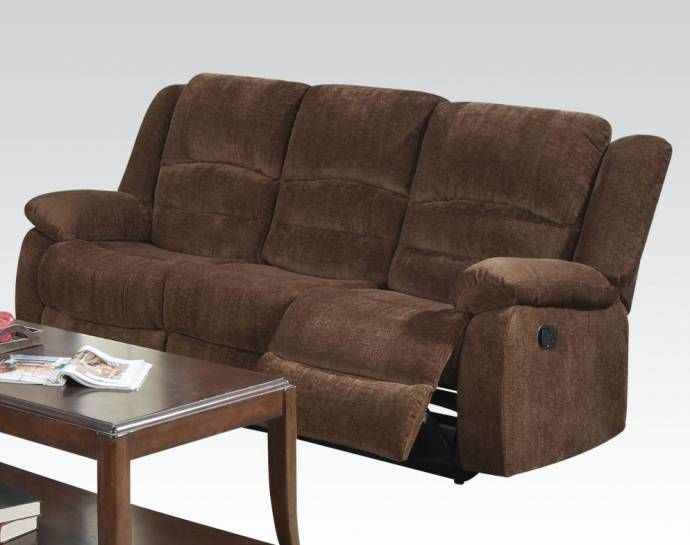 Dark Brown Chenille Fabric Reclining Sofa Set 3pcs Acme Furniture 51025 Bailey Bailey 51025 Set 3 Buy Online Furniture Sofa Acme Furniture #walker #furniture #living #room #sets