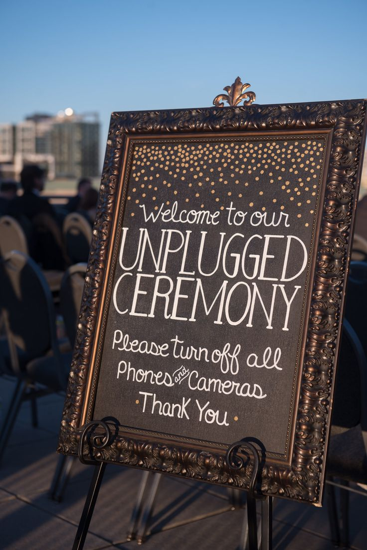 The 25+ Best Unplugged Wedding Sign Ideas On Pinterest