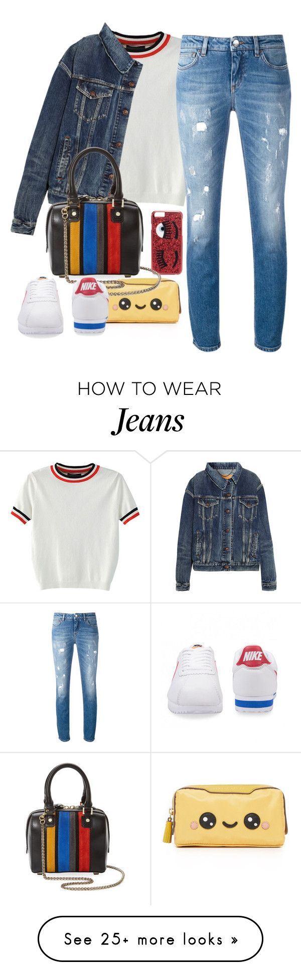 """""""Beg Your Pardon"""" by chelsofly on Polyvore featuring Chiara Ferragni, WithChic, Dolce&Gabbana, Balenciaga, Anya Hindmarch and Alice + Olivia"""