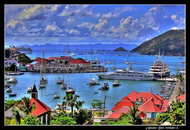 Saint Barthelemy French West Indies fell in love there a couple of times.