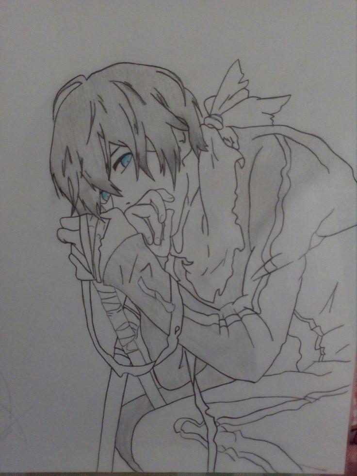 Yato | Noragami ^^  Dibujo a lápiz... by: Me