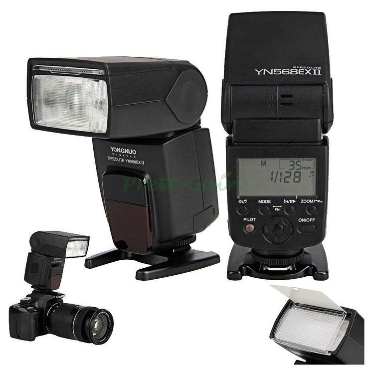 Yongnuo YN568EX II TTL Master HSS 1/8000s Flash Speedlite for Canon 7D 60D
