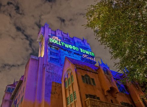 Travel to Disney's Hollywood Studios and experience the terrific thrill of The Twilight Zone Tower of Terror.