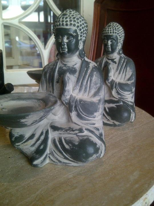 Buddah tealight candle holder from Latelier Home, Cordova St. Vancouver.: Buddah Tealight, Candle Holders