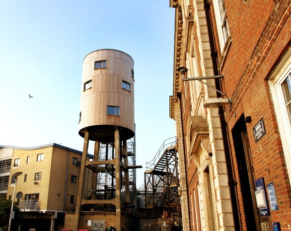 water tower apartment Notinghill, LondonWater Towers, Tom Dixon, Dreams Home, North Kensington, Towers House, Green Buildings, Interiors Design, Convertible Water, Design Blog