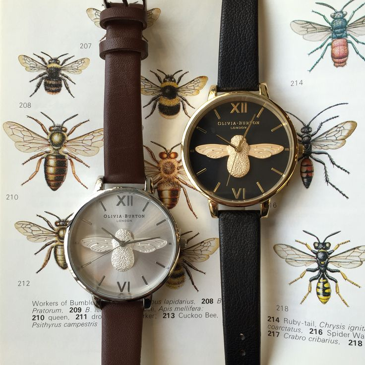 Olivia Burton Moulded Bee watches.