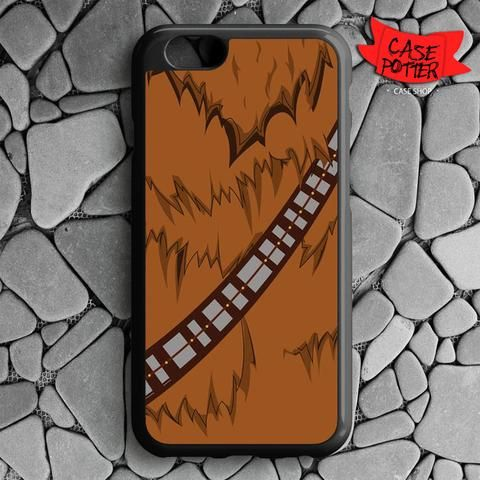 Brown Body Chewbacca Star Wars iPhone 6 iPhone 6S Black Case