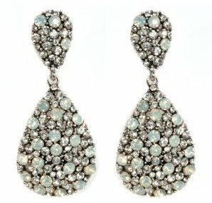 Fabulous Oval Clear Crystal Earrings available from Facebook page https://www.facebook.com/foreverfabulous.store?ref=tn_tnmn