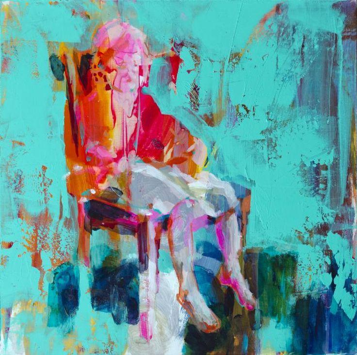 "Saatchi Art Artist Fernanda Cataldo; Painting, ""Girl experiment"" #art"