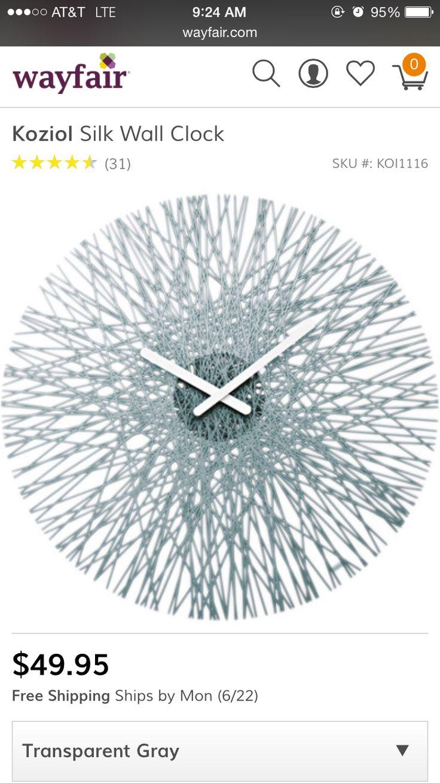 178 best Wall art, mirrors, frames,wall clocks images on Pinterest ...